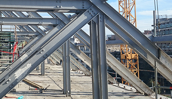 Deciding what type of fire protection to use with steel structures
