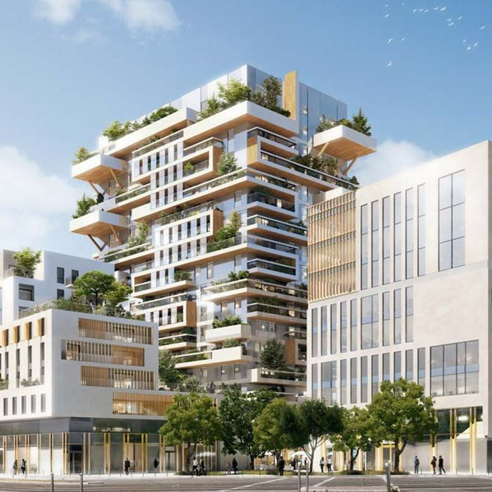 Promat protects largest wooden high-rise